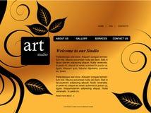 вебсайт шаблона