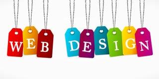 Веб-дизайн Стоковое Изображение