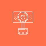 веб-камера иллюстрации иконы реалистическое Стоковая Фотография