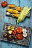 Вегетарианец обеда Стоковое Изображение RF