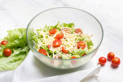 Вегетарианец салата цезаря Стоковая Фотография