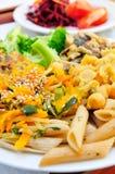 Вегетарианская еда Стоковые Изображения