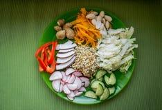 Вегетарианская еда Стоковое Изображение