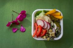Вегетарианская еда стоковое изображение rf