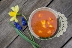 Вегетарианская еда Стоковая Фотография