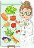 Вегетарианская диета Стоковые Фото
