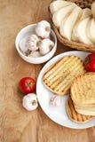 Вегетарианские завтраки стоковое изображение