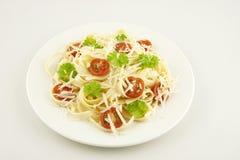 Вегетарианские макаронные изделия Стоковые Изображения RF