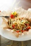 Вегетарианские макаронные изделия #2 Стоковое Фото