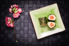 Вегетарианские суши Стоковая Фотография RF