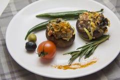 Вегетарианские champignons Стоковая Фотография