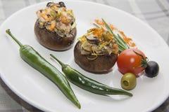Вегетарианские champignons Стоковое фото RF