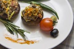 Вегетарианские champignons Стоковые Изображения RF