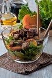 Вегетарианский салат Стоковое Изображение