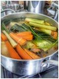 Вегетарианский суп Стоковое фото RF