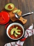 Вегетарианский суп chili Стоковая Фотография RF