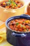 Вегетарианский Chili Стоковые Фотографии RF