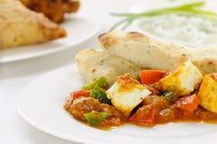 Вегетарианское карри стоковое фото rf