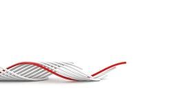 ведение кабеля Стоковые Фотографии RF