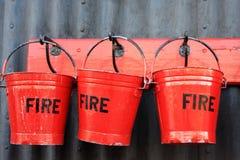 Ведра пожара Стоковые Фотографии RF