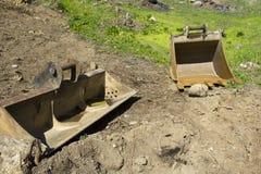 Ведро землекопа Стоковое Фото