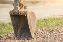 Ведро экскаватора стоковое изображение