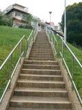 ведущие лестницы вверх стоковое изображение rf