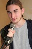 ведущий певец стоковые изображения rf