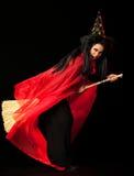 ведьма веника Стоковые Изображения