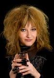 ведьма вина Стоковые Фото