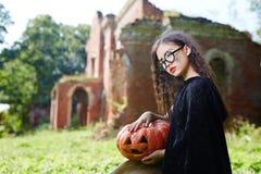 Ведьма в колдуне Стоковое Изображение