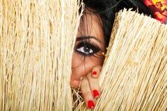 ведьма глаза Стоковое Фото