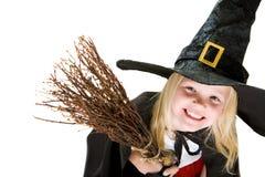 ведьма девушки costume Стоковое Изображение