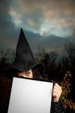 ведьма знамени пустая Стоковое фото RF