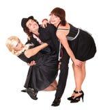 ведьма людей группы costume стоковые фото