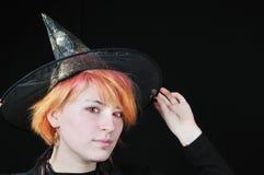 ведьма шлема славная стоковая фотография