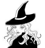 ведьма Иллюстрация вектора