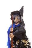 ведьма halloween куклы Стоковая Фотография