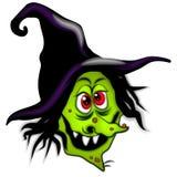 ведьма halloween шаржа страшная Стоковое фото RF
