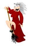 ведьма stripteaser halloween Стоковые Фотографии RF