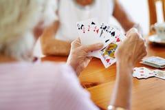 везение игры карточки 4 туза Стоковые Фото