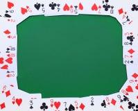 везение игры карточки 4 туза стоковое изображение rf