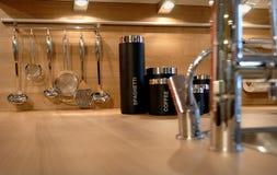 везет инструменты на автобусе кухни Стоковое Изображение RF