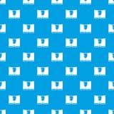 Вектора картины людей синь кратко безшовная иллюстрация штока