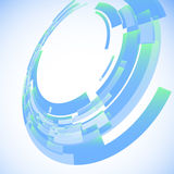 Абстрактная предпосылка с космосом для вашего дела m Стоковое Фото