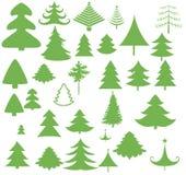 Векторы дерева xmas рождества стоковая фотография