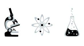 Векторы науки Стоковые Изображения RF