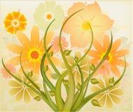 вектор абстрактного искусства флористический Стоковое фото RF