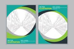 Вектор абстрактной зеленой предпосылки Стоковая Фотография