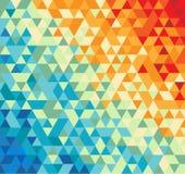 вектор абстрактной иллюстрации предпосылки multicolor Бесплатная Иллюстрация